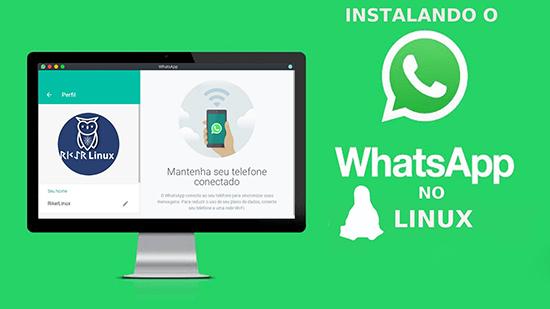 Как установить на компьютер Whatsapp для Linux Ubuntu