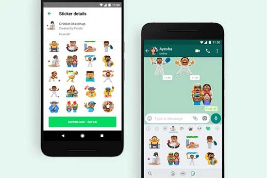 Удаление недавних стикеров и смайлов в WhatsApp