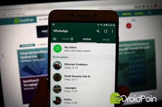 Добавление полного видео в статус WhatsApp без ограничения в 30 секунд