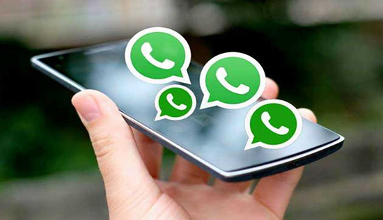 Выбор картинки на аву для группового чата в WhatsApp