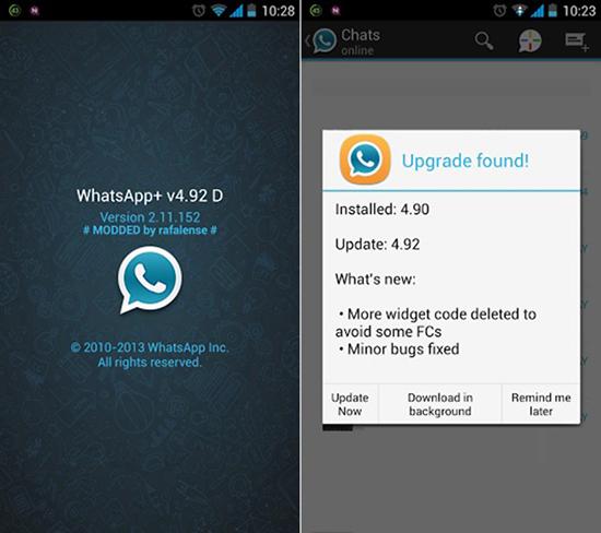 Как самому сделать обновление WhatsApp Plus