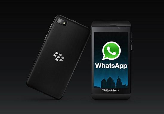 Как установить WhatsApp на смартфоны марки Blackberry