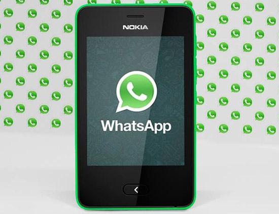 Как установить WhatsApp на телефон Nokia Asha 501