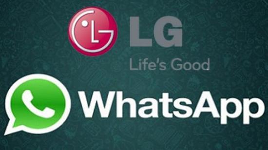 Установка WhatsApp на телефон LG с Android