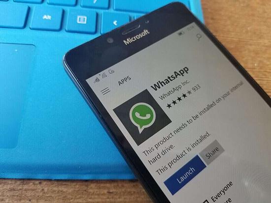 Особенности WhatsApp на телефонах Windows Mobile