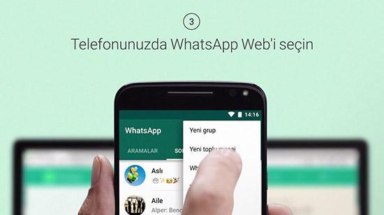 Можно ли открыть WhatsApp Web на смартфоне