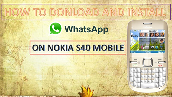 Можно ли скачать WhatsApp на Nokia series 40