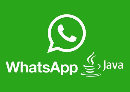 Есть ли WhatsApp для телефонов с поддержкой Java