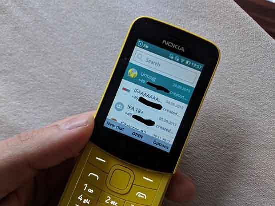 Как установить WhatsApp на KaiOS
