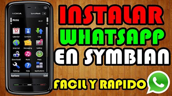 Скачивание и установка WhatsApp на Нокиа 5230