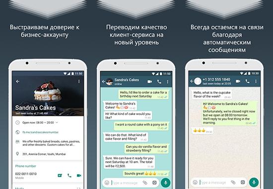 Как создать в WhatsApp аккаунт для бизнеса на телефоне