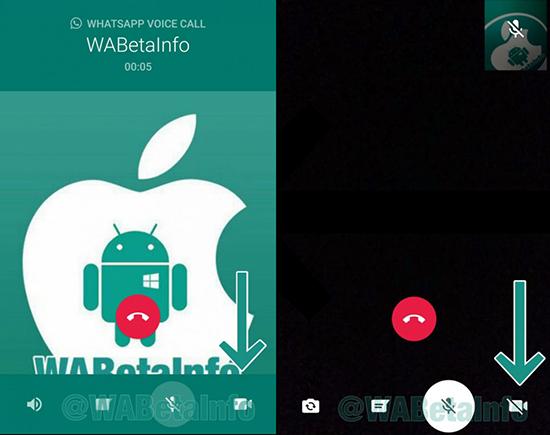 Инструкция по свертыванию видеозвонков в WhatsApp