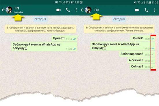 Как понять что тебя удалили из WhatsApp