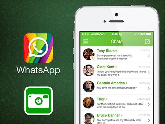 Как установить фотографию на аву в WhatsApp с телефона