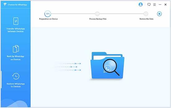 Восстановление чатов Ватсапа на Айфоне с помощью Гугл Диска