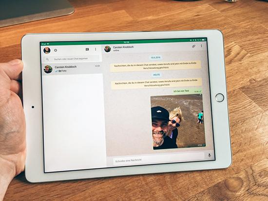 Как пользоваться WhatsApp на iPad
