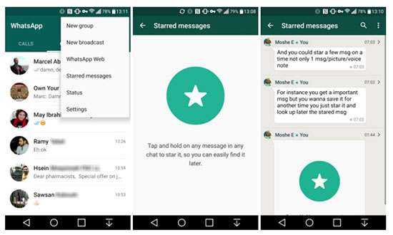 Что значит звездочка в WhatsApp: инструкция по использованию