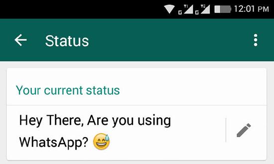 Что значит сообщение «Hey there i am using WhatsApp»