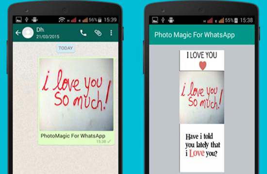 Как в WhatsApp нарисовать на фотографии на телефоне