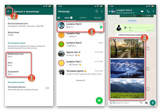 Способы скачать фотографии с WhatsApp в галерею на Android