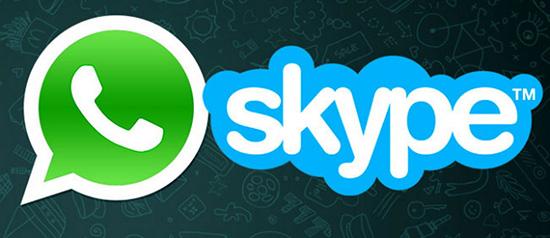 Что лучше выбрать — Skype или WhatsApp