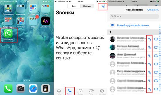 Бесплатные и платные функции в WhatsApp для звонков