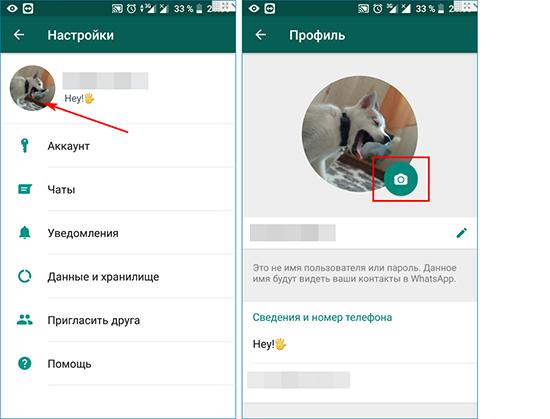 Причины того что WhatsApp не отображает аватарку контакта